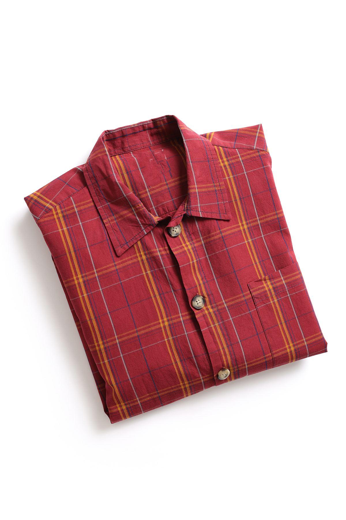 Kırmızı İndigo Gömlek