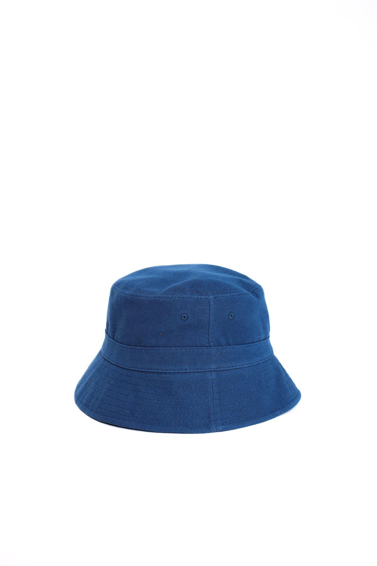 Mavi Kalın Safari Şapka