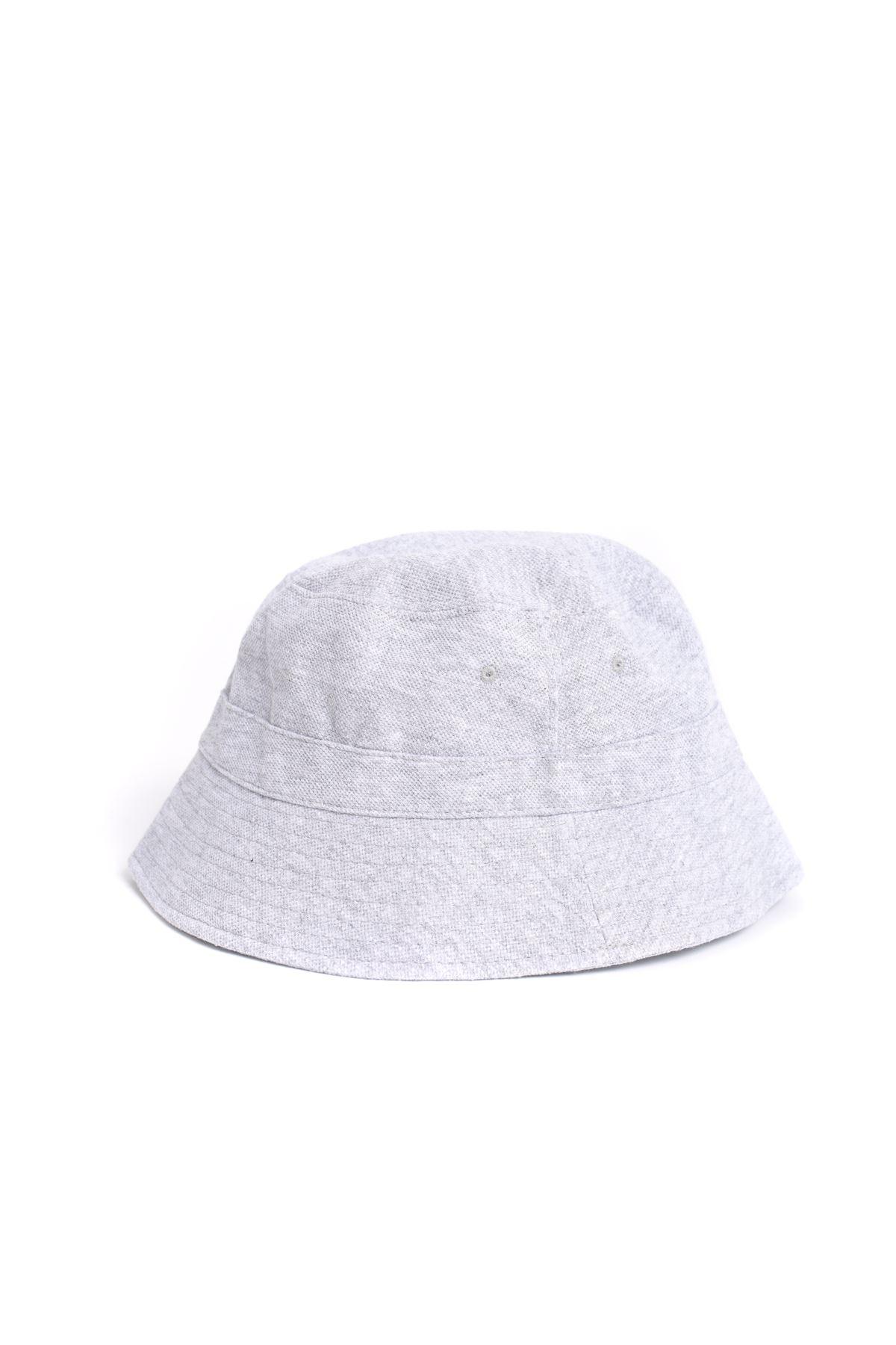 Gri Kalın Safari Şapka