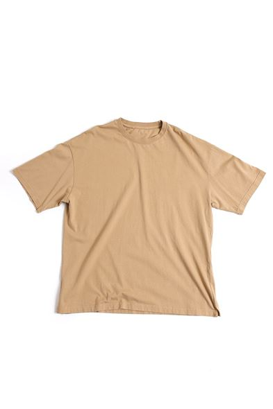 Taba Pamuklu T-Shirt